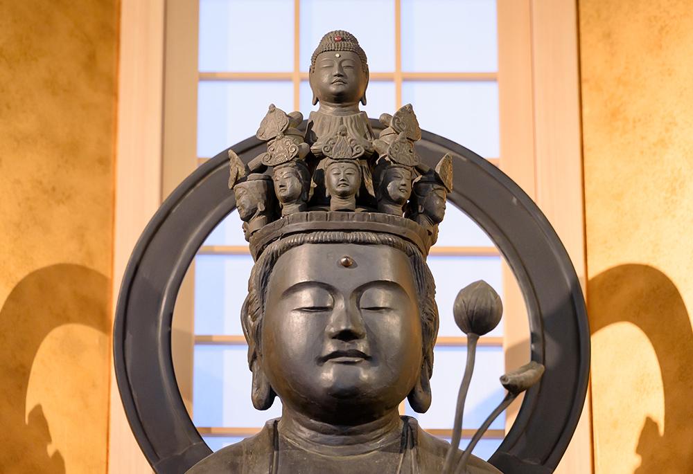 自敬寺に祀られている仏様